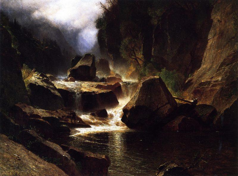 Ausable River | Samuel Colman | oil painting