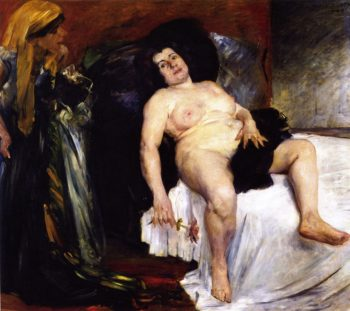 Bathsheba | Lovis Corinth | oil painting