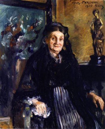 Frau Marie Moll | Lovis Corinth | oil painting
