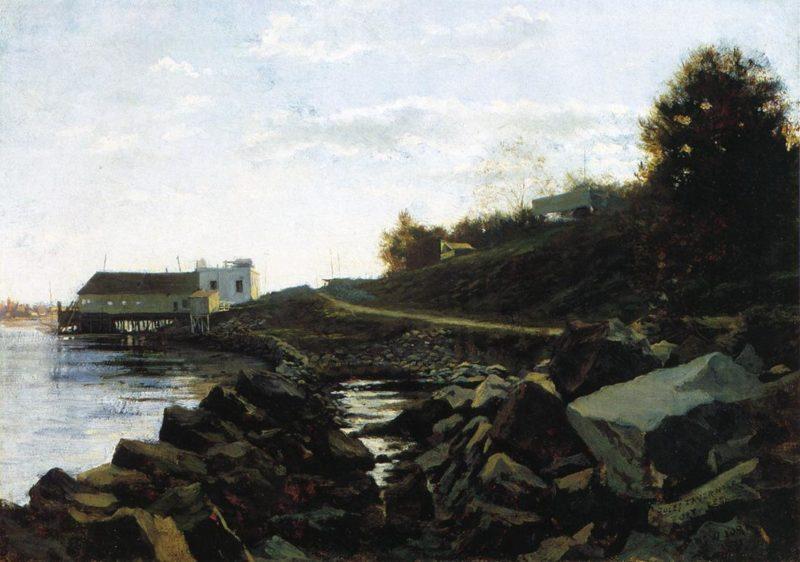 Fort Lee   Jules Tavernier   oil painting