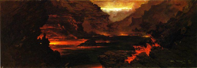 Hilo Hawaii | Jules Tavernier | oil painting