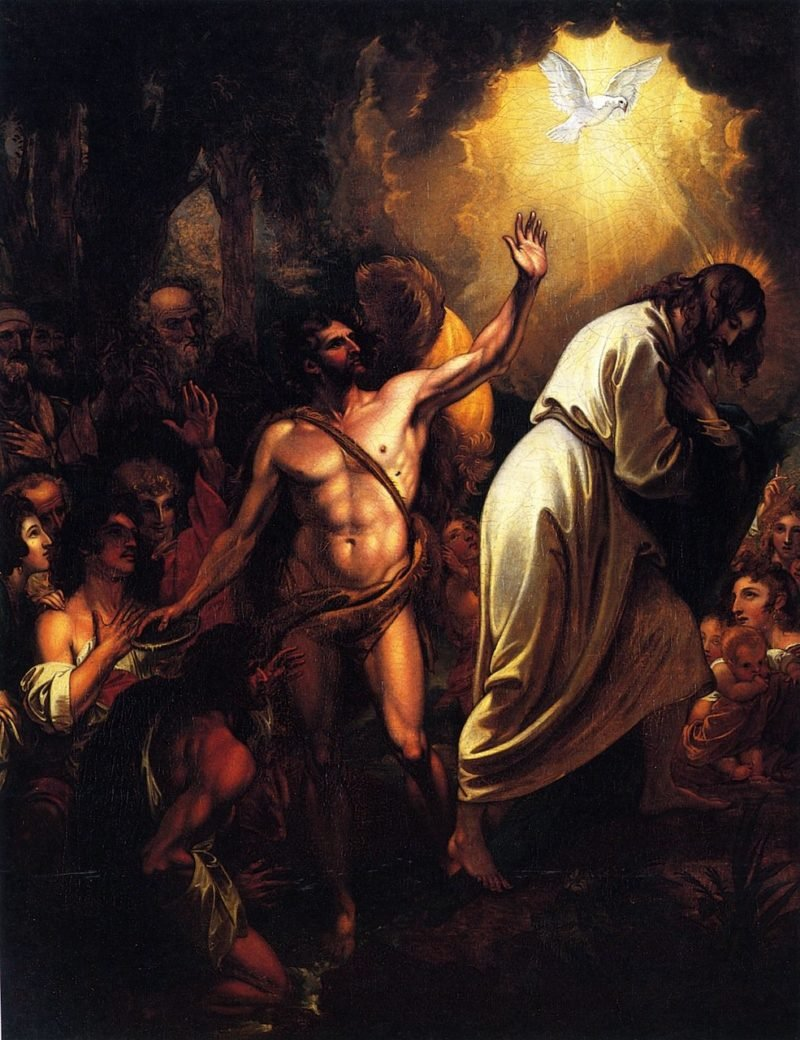 The Baptism of Our Saviour | Benjamin West | oil painting