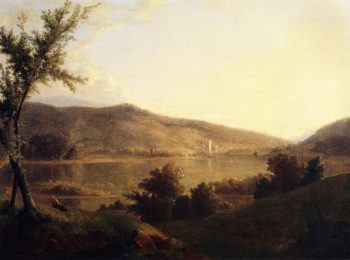 View of the Susquehanna | Thomas Doughty | oil painting
