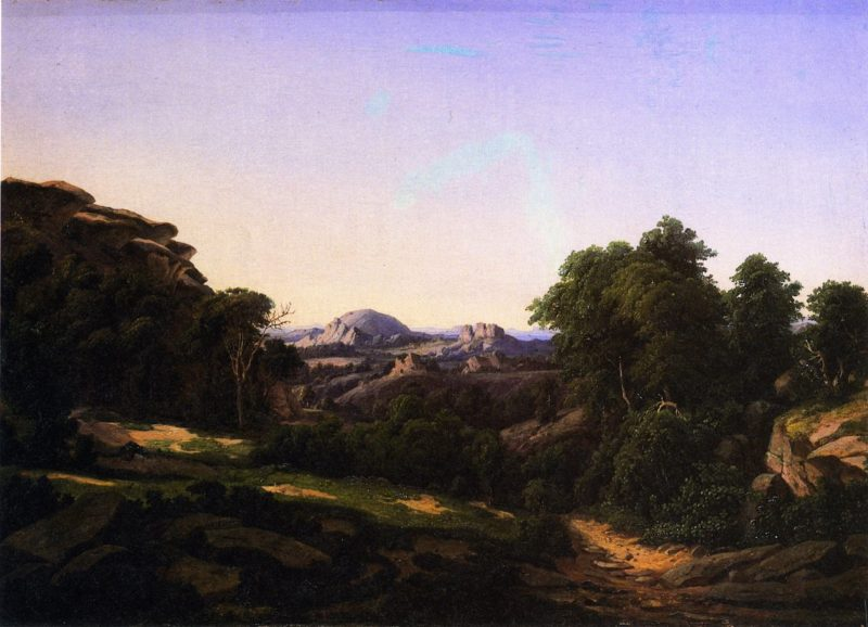 Enchanted Rock near Fredericksburg | Herman Lungkwitz | oil painting
