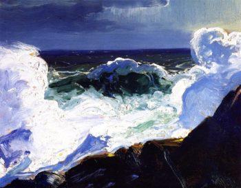 Green Breaker | George Wesley Bellows | oil painting