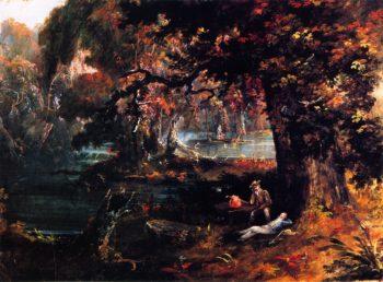 Picinc Scene | Charles Codman | oil painting