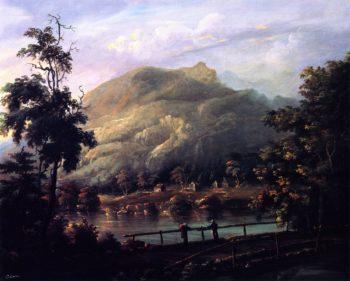 Romantic Landscape | Charles Codman | oil painting