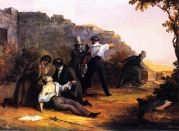 The Duel | Charles Codman | oil painting