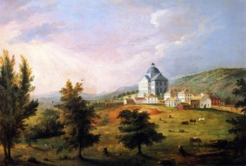 View of the Maine State House Augusta | Charles Codman | oil painting