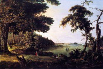 Diamond Cove Great Diamond Island Maine | Charles Codman | oil painting