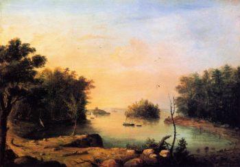 Diamond Cove Hog Island | Charles Codman | oil painting