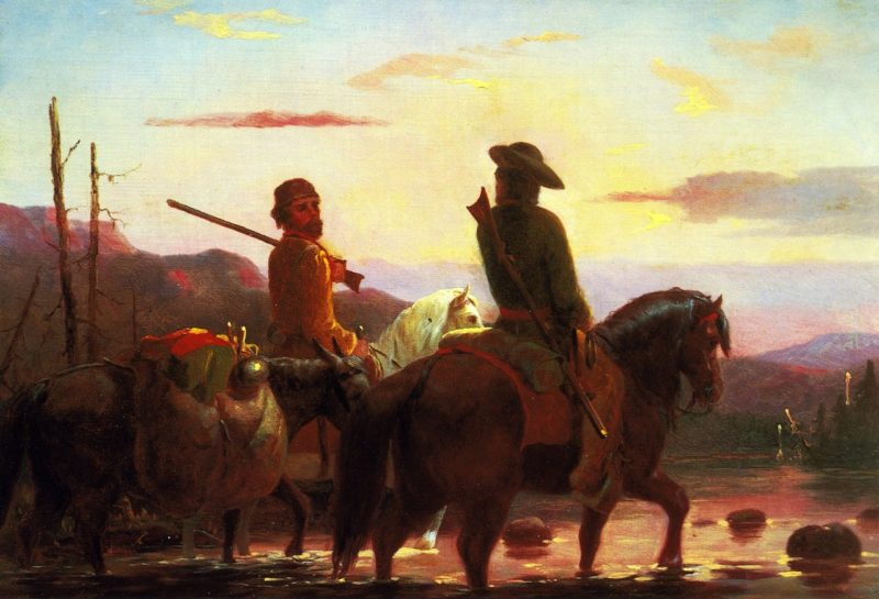 The Trappers | William Tylee Ranney | oil painting