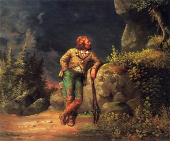 The Trapper | William Holbrook Beard | oil painting