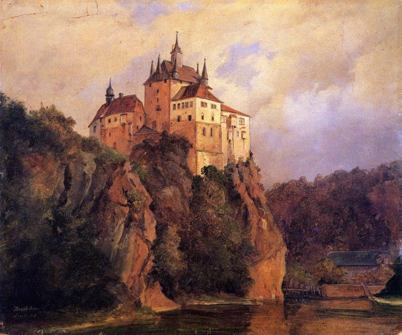 Kriebstein   Herman Lungkwitz   oil painting