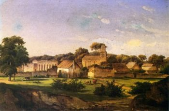 Mission San Juan de Capistrano | Herman Lungkwitz | oil painting