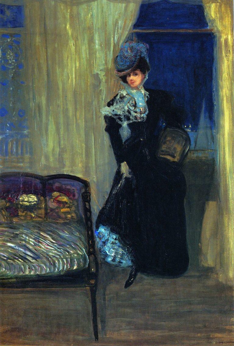 Madame Errazuriz | Charles Conder | oil painting