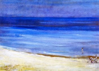 Untitled Seascape | Charles Conder | oil painting