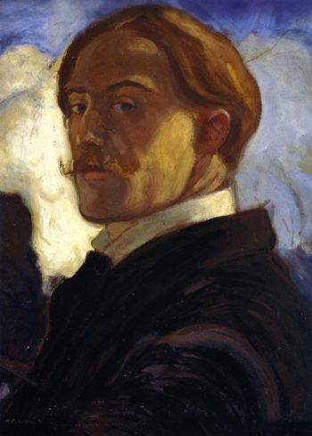 Self Portrait | Charles Conder | oil painting