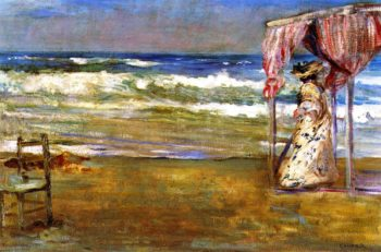 The Solitary Shore | Charles Conder | oil painting