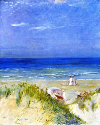Sand Dunes Ambleteuse | Charles Conder | oil painting
