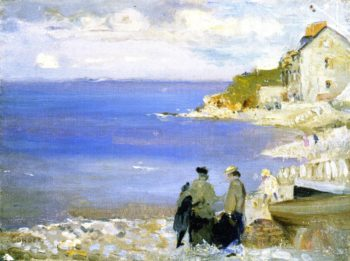 Swnage | Charles Conder | oil painting