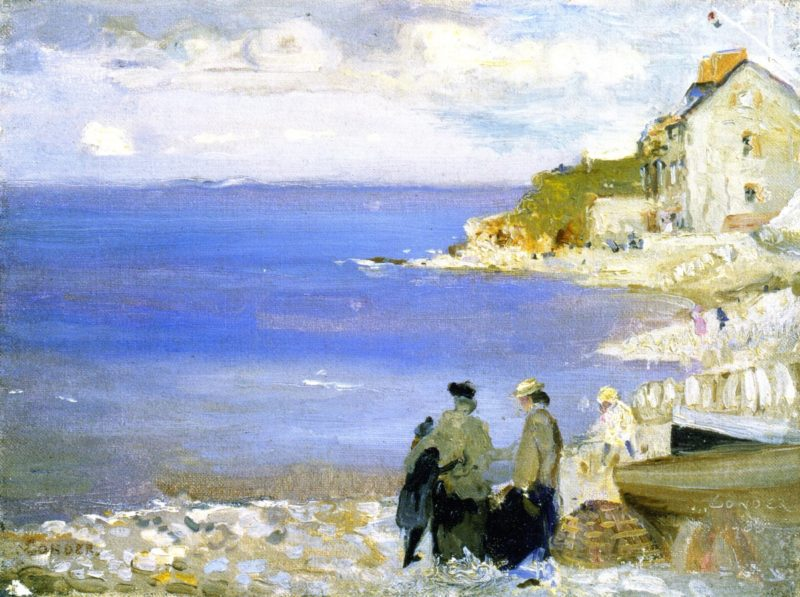 Swnage   Charles Conder   oil painting