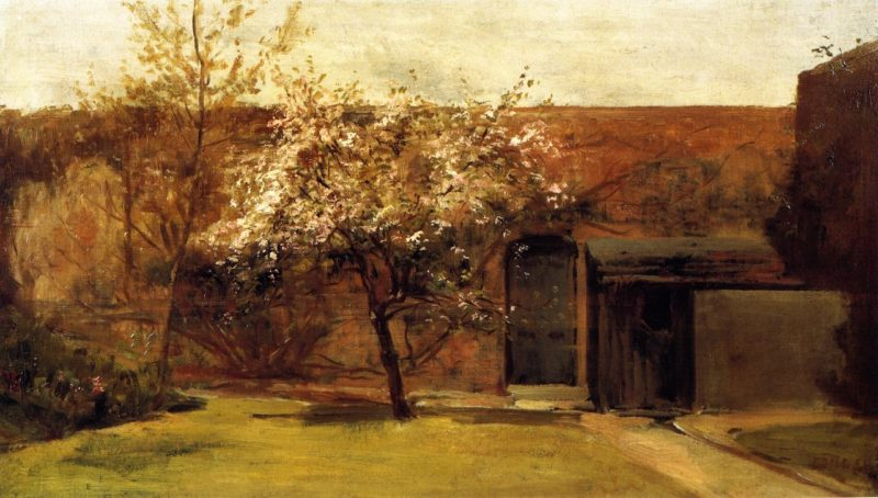 Blossoms Chantemesle | Charles Conder | oil painting