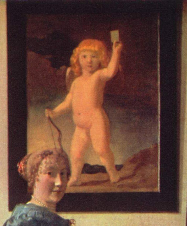 English Title - Fragment of A Lady Standing at a Virginal (Image:Jan_Vermeer_van_Delft_024.jpg   Jan Vermeer van Delft   oil painting