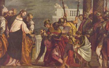 Christus und der Hauptmann von Kapernaum | Paolo Veronese | oil painting