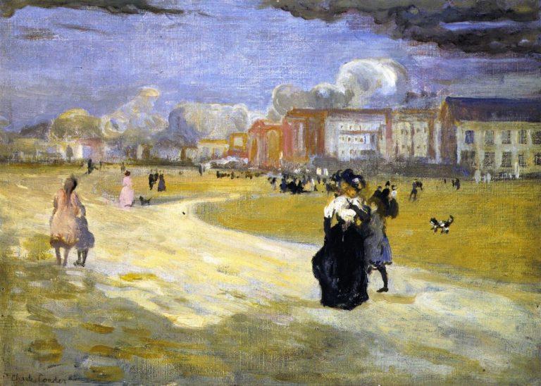 Dieppe | Charles Conder | oil painting