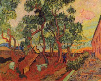 Irrenhausgarten von St-R?my | Vincent van Gogh | oil painting