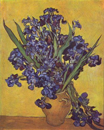Stilleben mit Schwertlilien | Vincent van Gogh | oil painting