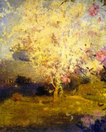 Springime | Charles Conder | oil painting