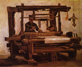 Weber am Webstuhl   Vincent van Gogh   oil painting