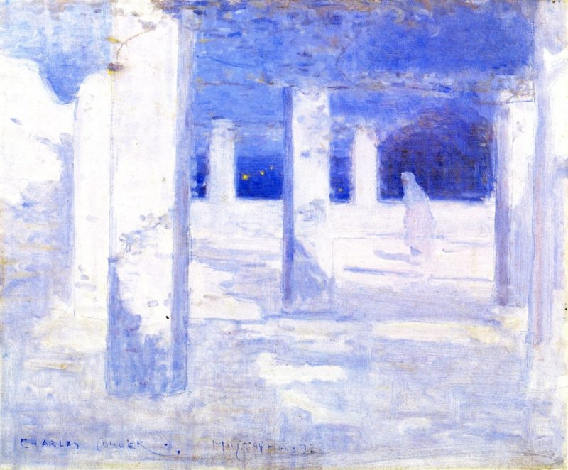 Moonlight at Mustapha | Charles Conder | oil painting