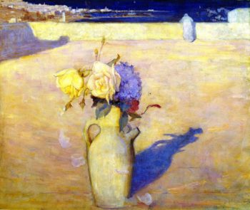 The Hot Sands Mustapha | Charles Conder | oil painting
