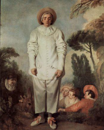 Gilles | Antoine Watteau | oil painting
