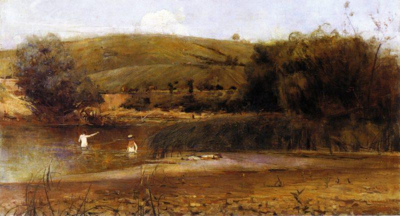 The Yarra Heidelberg | Charles Conder | oil painting