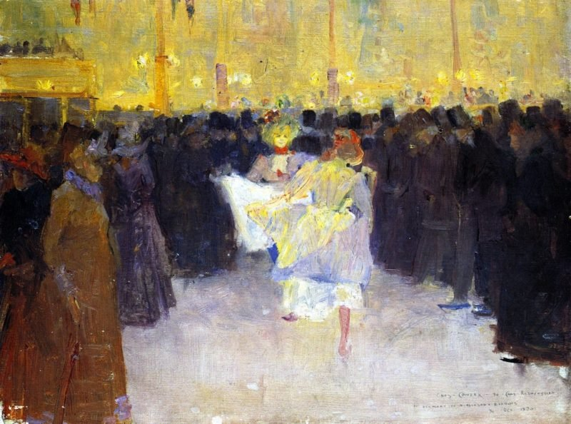 The Moulin Rouge | Charles Conder | oil painting