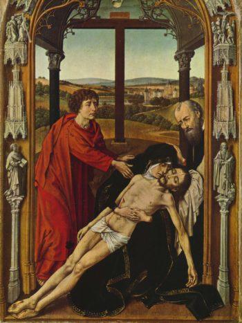 Piet? | Rogier van der Weyden | oil painting