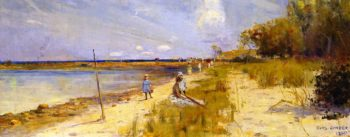 Ricketts Point | Charles Conder | oil painting