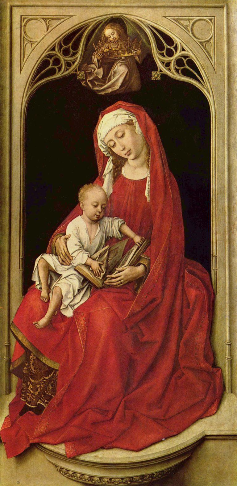 Maria mit Christuskind (Madonna Duran) | Rogier van der Weyden | oil painting