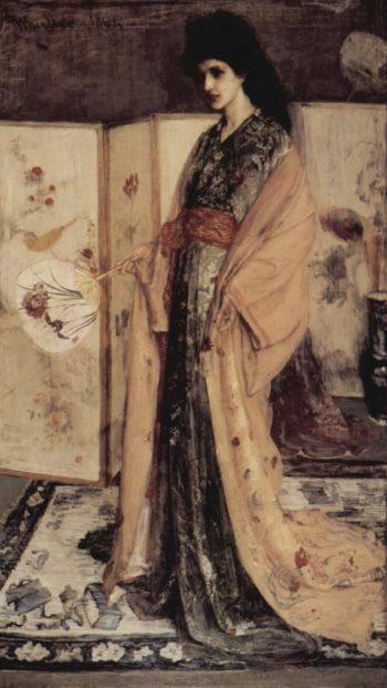 La Princesse du Pay de la Porcelaine English Title - La Princesse du Pay de la Porcelaine | James McNeill Whistler | oil painting