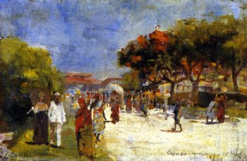 Colombo | Charles Conder | oil painting