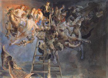 Bledne kolo | Jacek Malczewski | oil painting