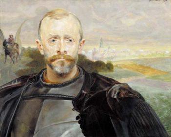 Portrait of Leon Pininski | Jacek Malczewski | oil painting