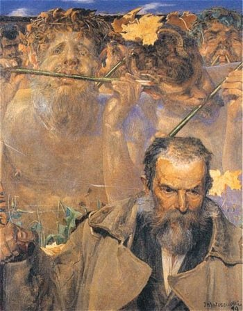 Adam Asnyk | Jacek Malczewski | oil painting
