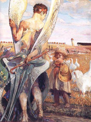 Aniele | Jacek Malczewski | oil painting