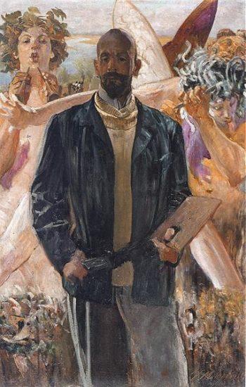 Autoportret | Jacek Malczewski | oil painting