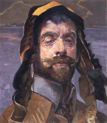 Autoportret 1907 | Jacek Malczewski | oil painting